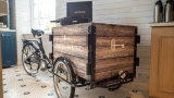 Hill Top Market delivery cart