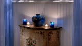 Side table in the spa treatment room